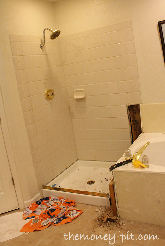 After The Walls Were Out I Started Tackling The Tile That