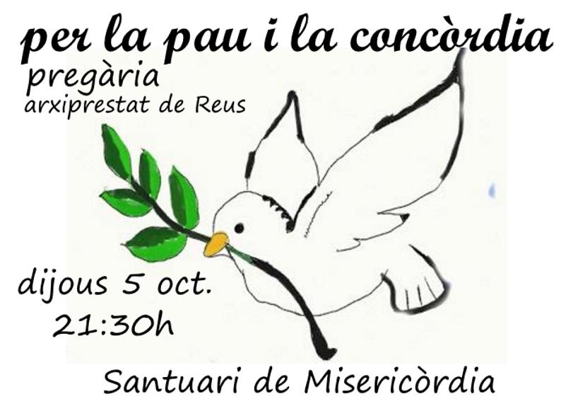 Selecció de fotografies de la pregària per la pau i la concòrdia (5-10-2017)