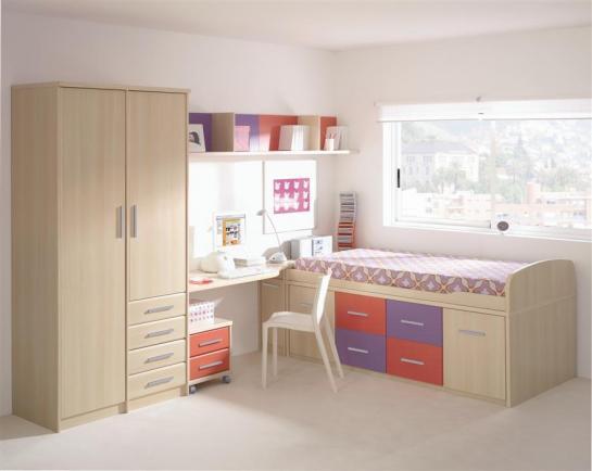 Decora el hogar modernos dormitorios juveniles femeninos - Imagenes dormitorios juveniles ...