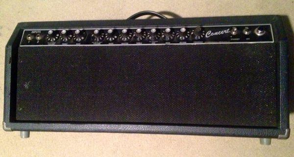Vintage 1985 Riviera Era Fender Concert Amp