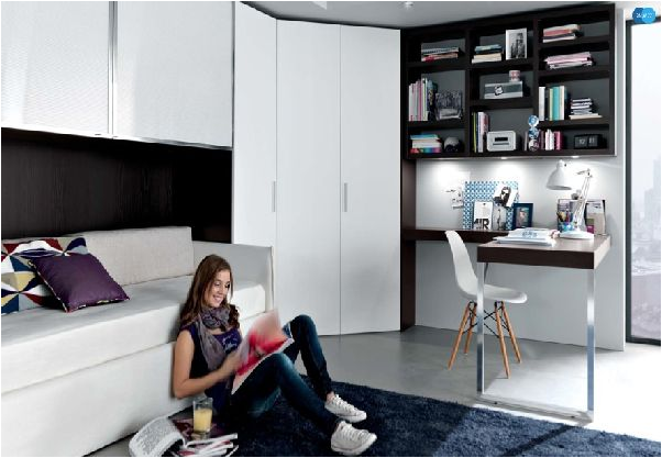 Cool modern teen girl bedrooms room design ideas Modern bedroom ideas for girls