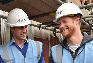 Beberapa waktu yang lalu dua putra mahkota Britania Pangeran William dan Pangeran Harry melakukan sebuah kegiatan yang membuat nama mereka menjadi sorotan