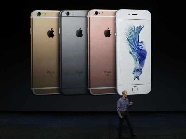 iPhone 6S new model different colors