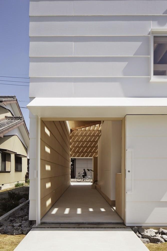 Planos low cost casa con luz cenital house with - Casas con luz natural ...