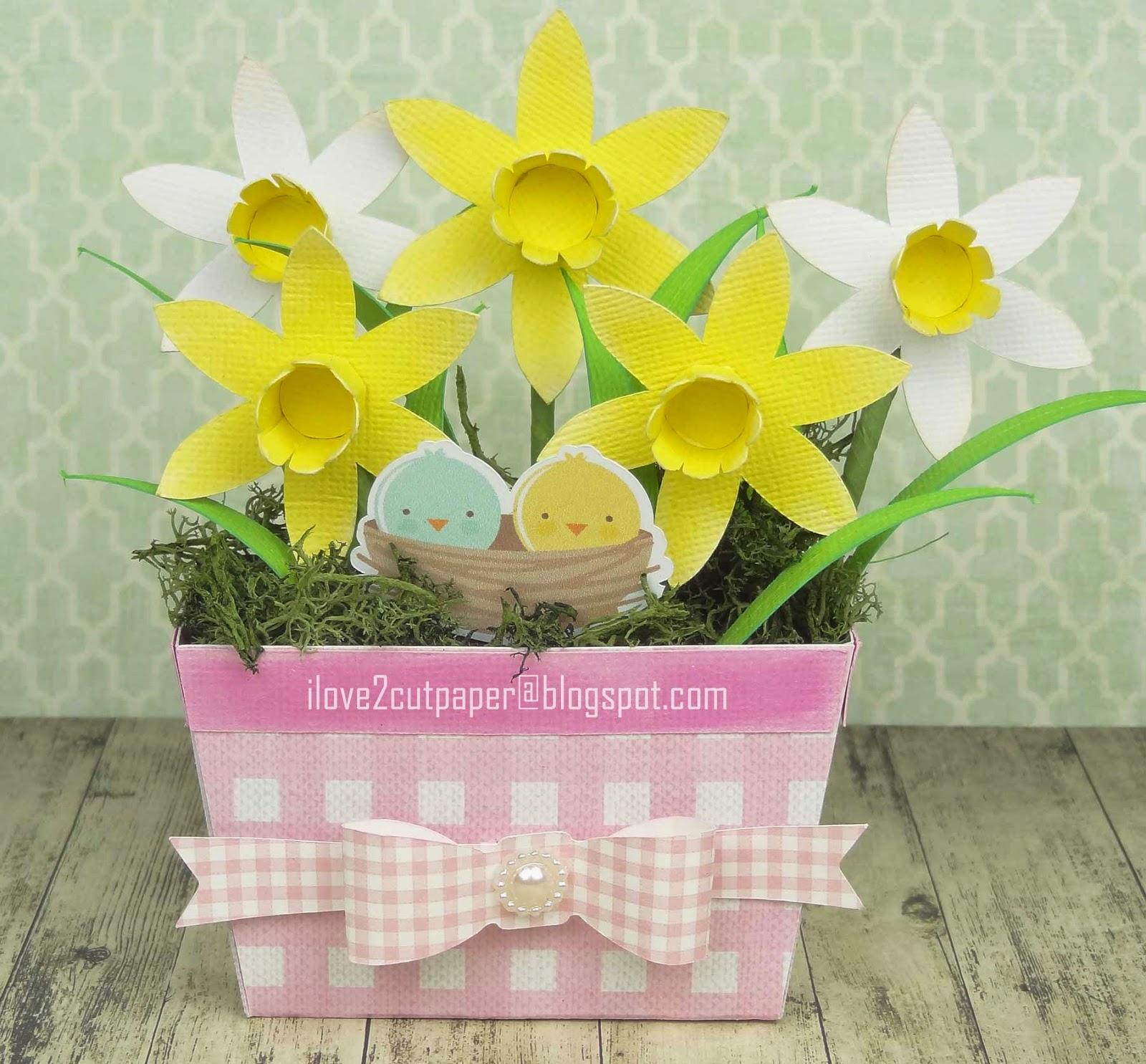 Spring, daffodil svg files