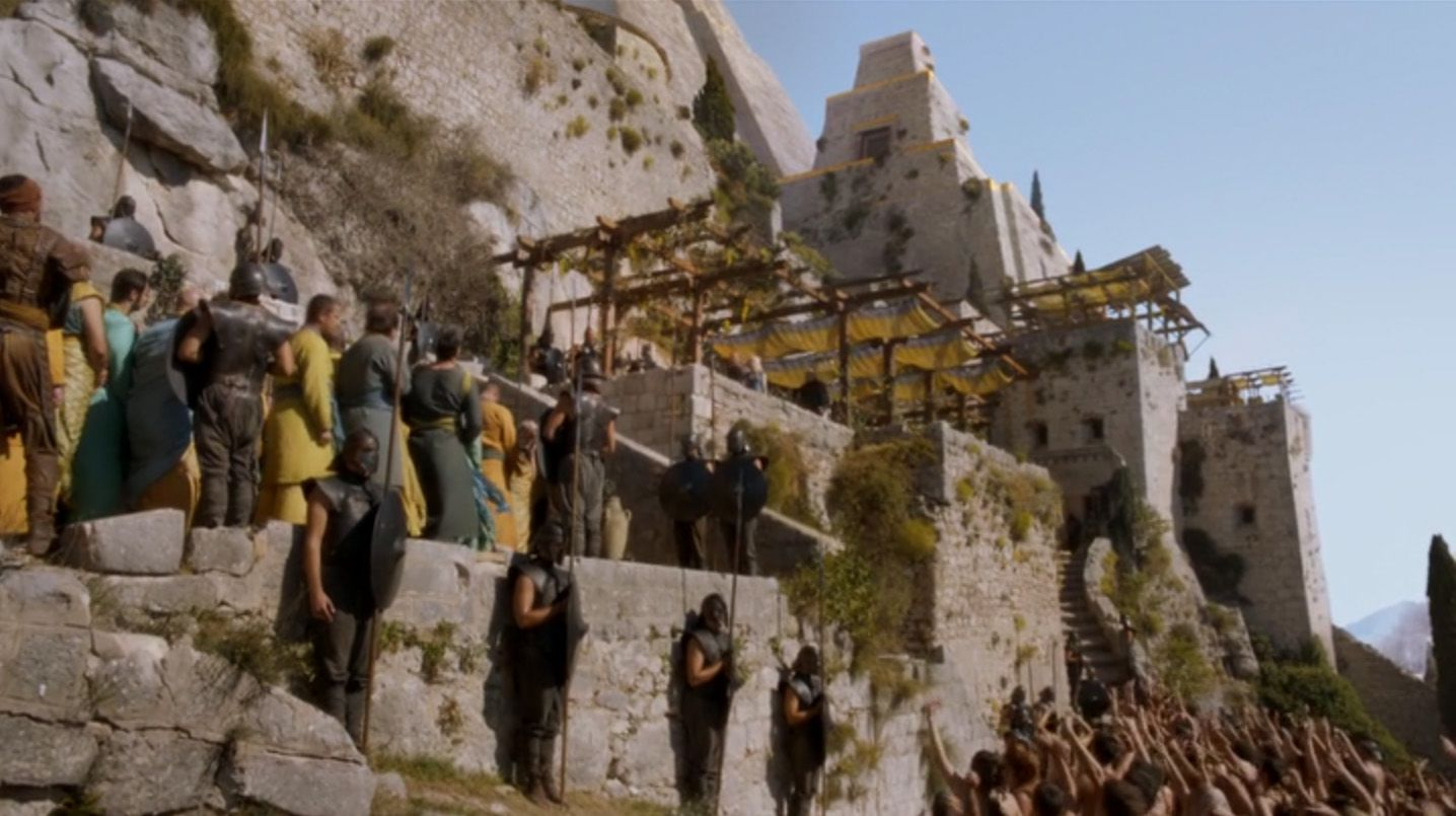 Game Of Thrones Location Photos In Split Part 1 2 The
