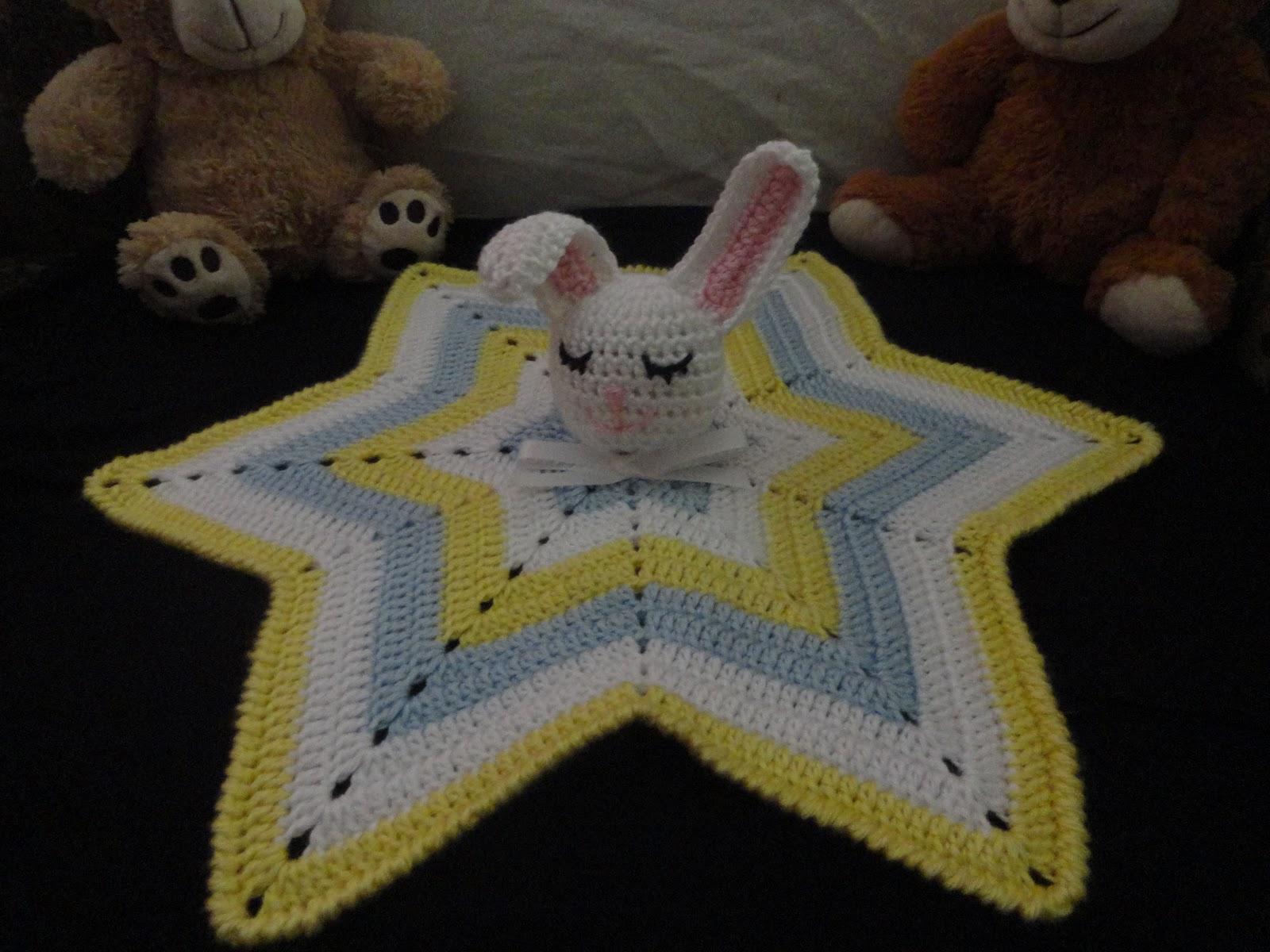 Crochet Crazy Mama: Sleepy Bunny Lovey Pattern