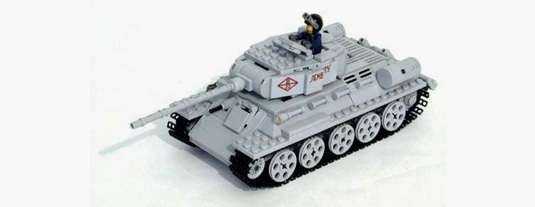 Лего Танк Т34