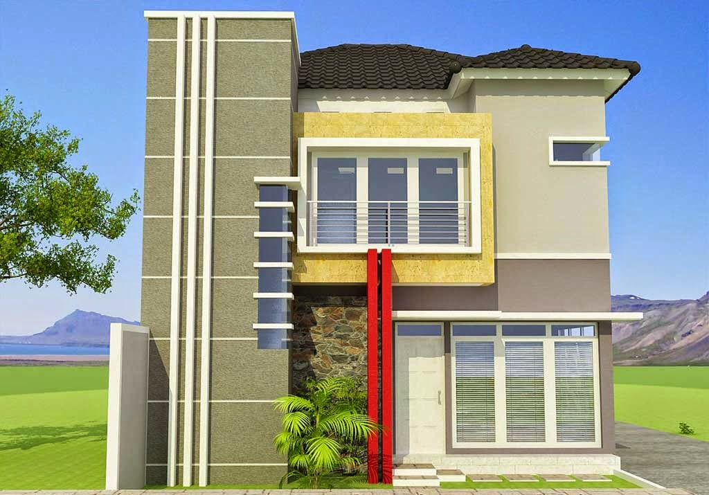 Plan-Minimalist-House-Floors-2-Type-100-Latest