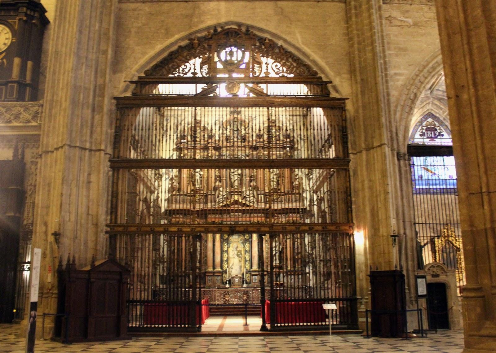 Sevilla vida y leyenda catedral de sevilla la capilla - Catedral de sevilla interior ...