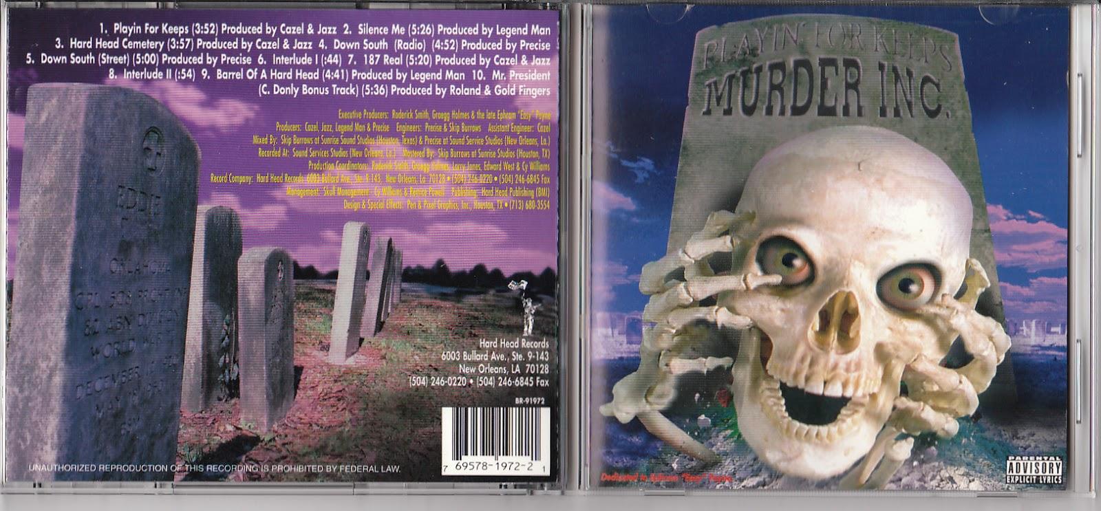 Dernier CD/VINYLE/DVD acheté ? - Page 38 Murder+Inc.+-+Playin+For+Keeps
