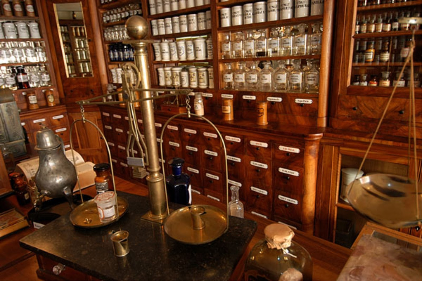 Simple J Thaddeus Ozarkus Cookie Jars And Other Larks Cabinets With A With  Vintage Apothecary Cabinet.