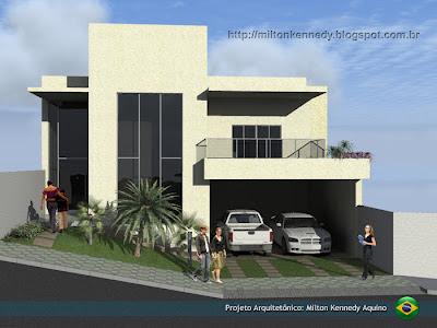 Projeto arquitetônico, projeto de casas