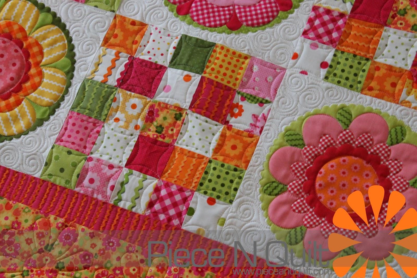 Piece N Quilt: Coordinating Little Girl Quilts
