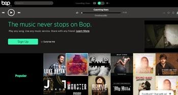 Escucha y comparte musica online con Bop.fm