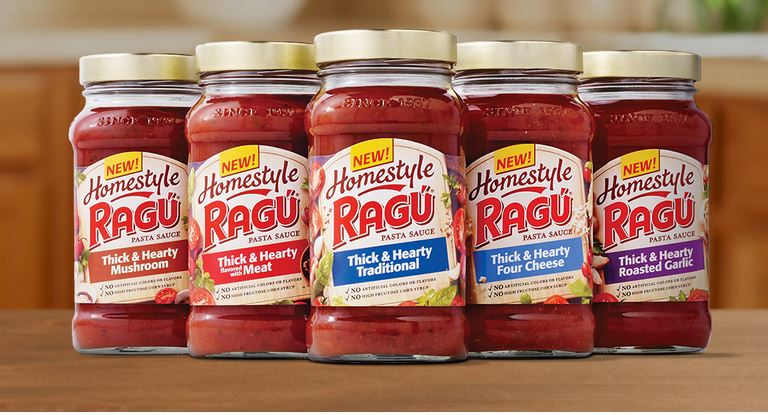 Check out NEW Ragu Homestyle!