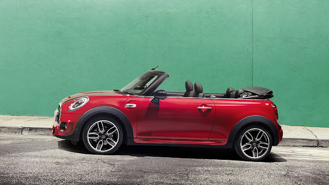 The MINI Cooper Convertible