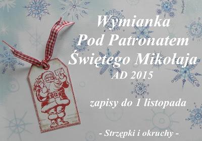 Wymianka Pod Patronatem Świętego Mikołaja AD 2015