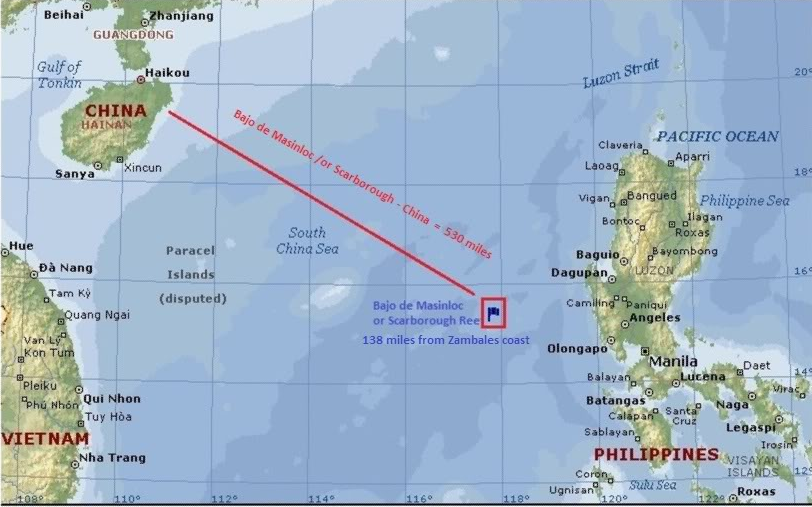 scarborough schoal Manila — chinese vessels have quietly abandoned the contested scarborough shoal, the philippine government said friday, apparently a concession by beijing after a visit to china by president.