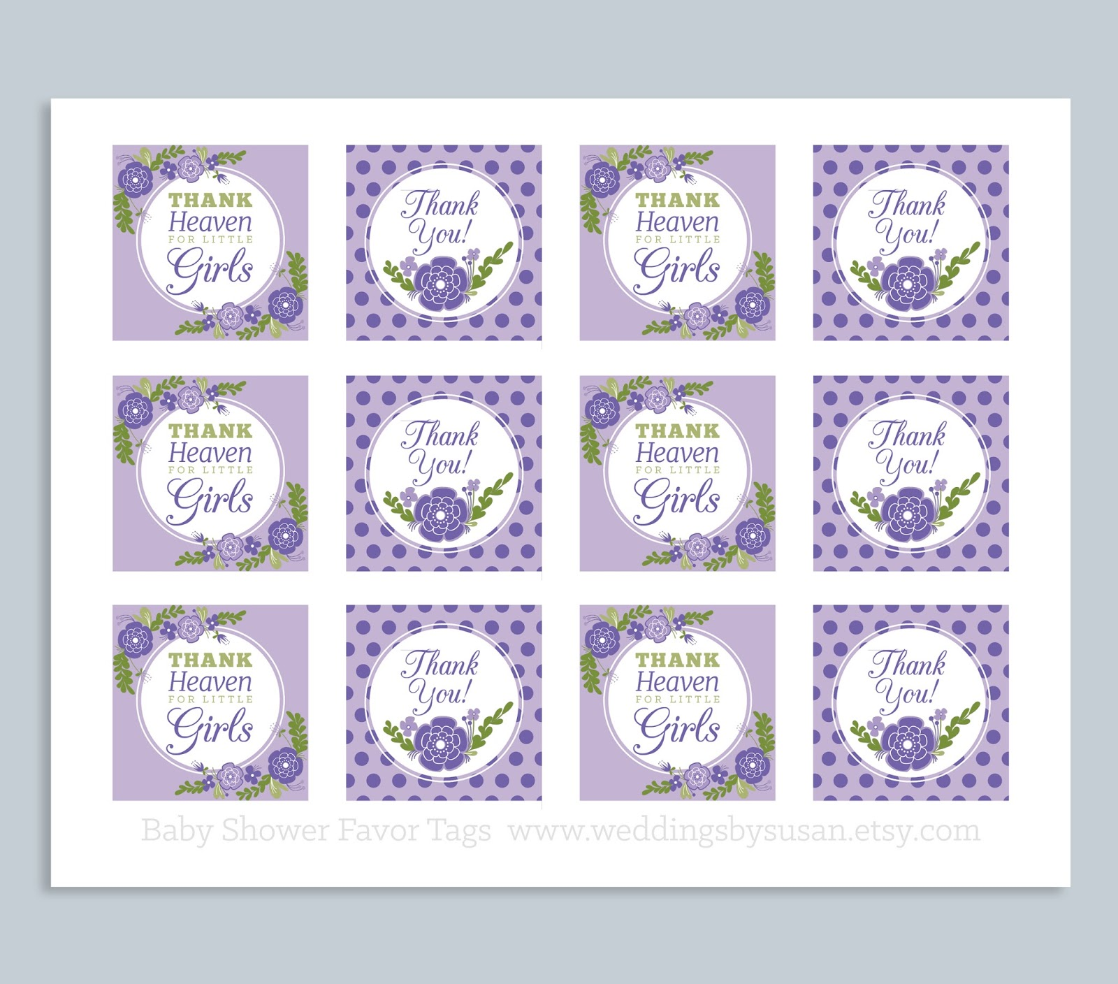 Weddings by Susan Printable Baby Shower Signs Games and Favor