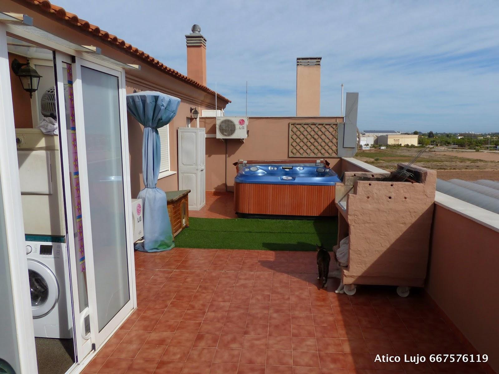 Atico de lujo con jacuzzi en terraza - Jacuzzi en terraza ...