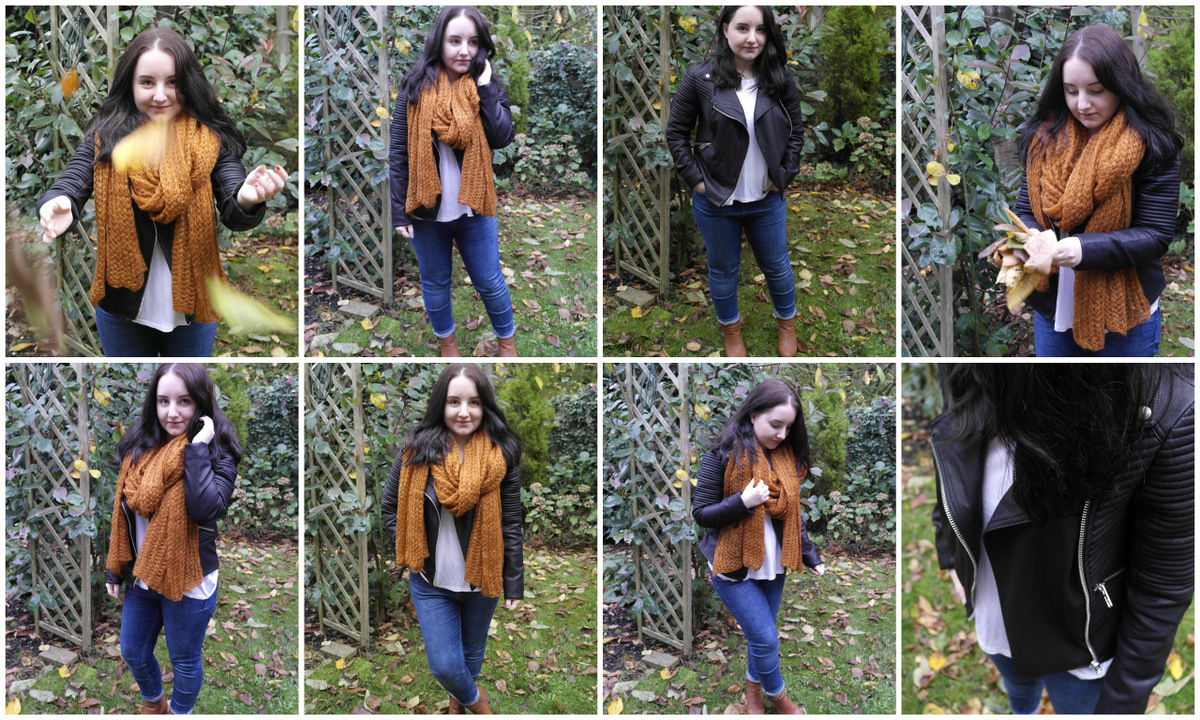 OOTD: Warehouse Faux Leather Jacket