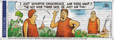 Coincidence cartoon