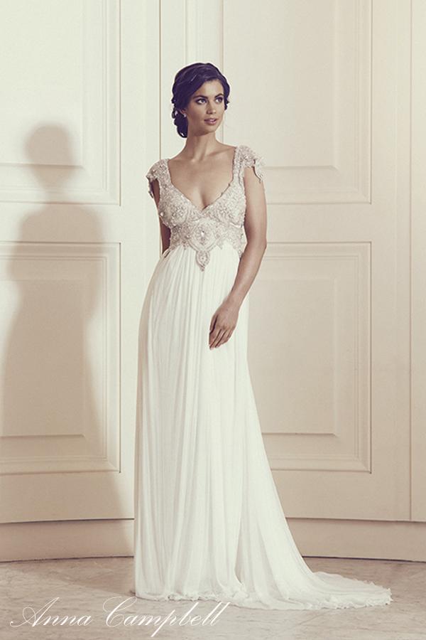 Fantásticos vestidos de novias | Colección Anna Campbell 2016