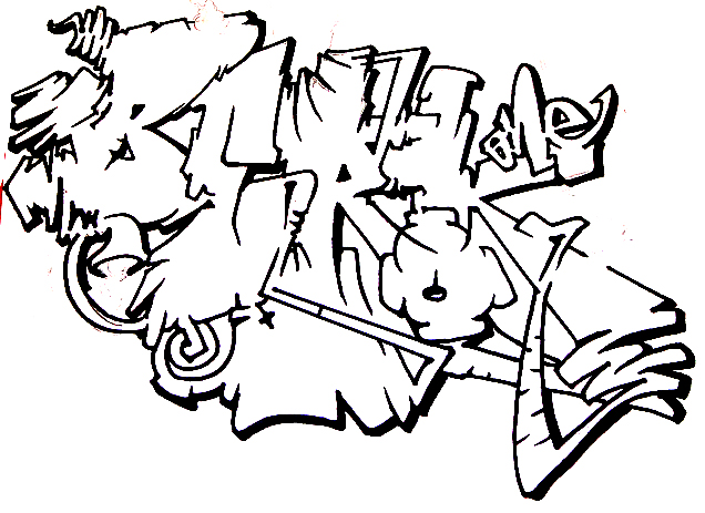 Letras De Graffitis En 3d TX8axk46L moreover Bun B Jumbo Coloring And Rap Activity Tumblr moreover Graffitis De Amor Para Dibujar together with 2 likewise Graffiti Fonts. on graffitis de hip hop