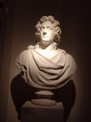 busto Goethe museo Casa di Goethe Roma