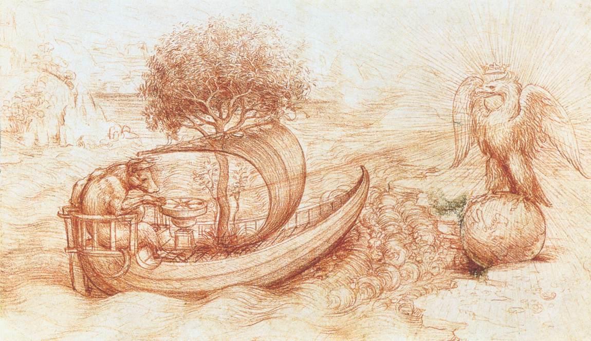 Contour Line Drawing Leonardo Da Vinci : Art artists leonardo da vinci u part