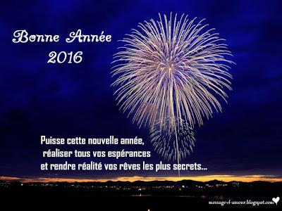 Texte d'amour bonne année 2016