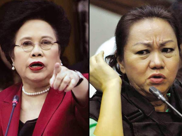 Miriam Defensor Santiago on pork barrel scam