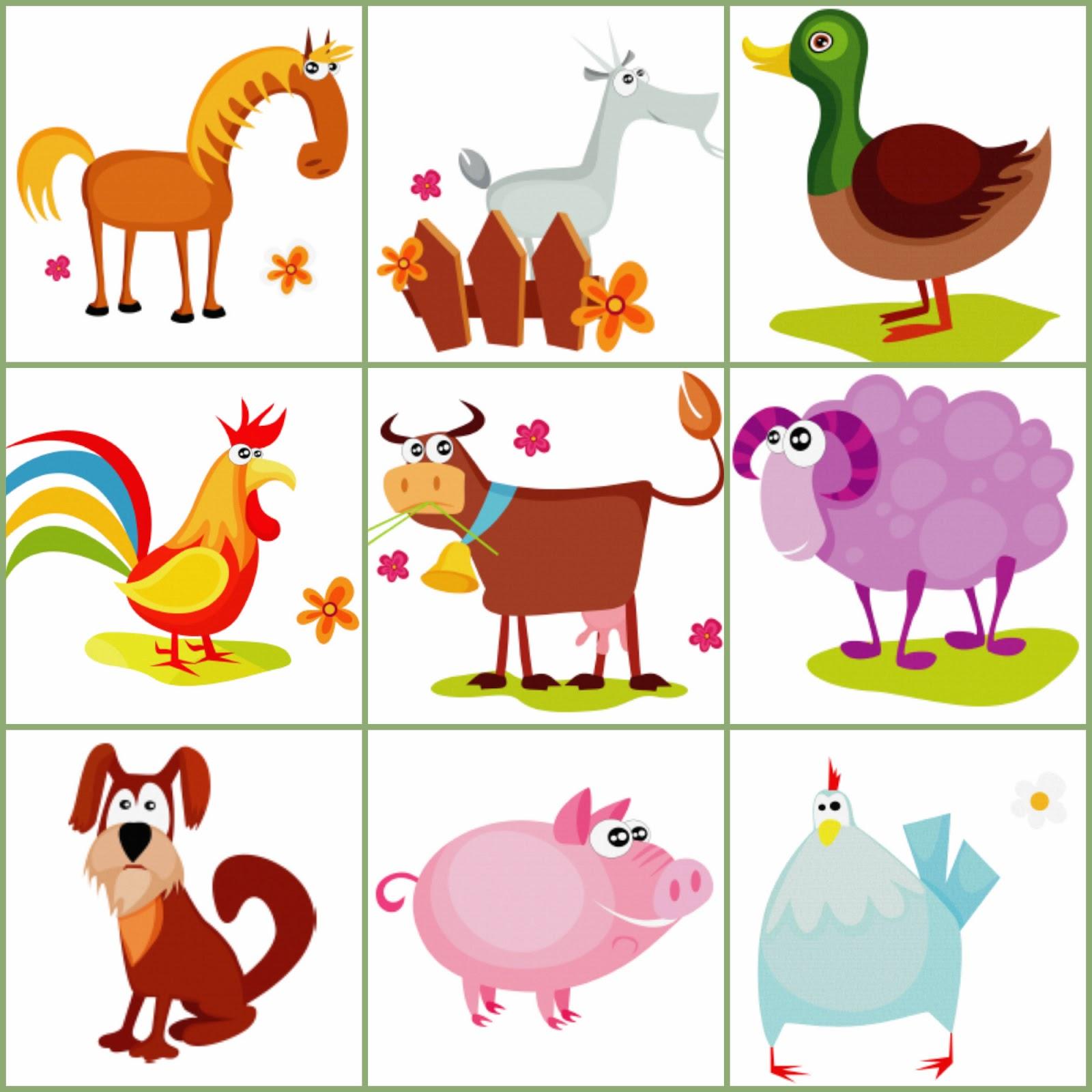 Animales de granja: encuentra su casilla