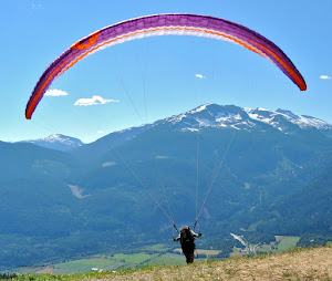 Launching my Skywalk Cayenne 4 paraglider