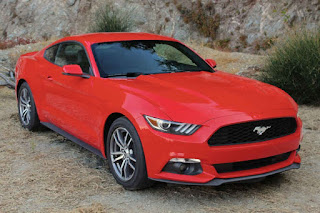 2016 New Mustang Fastback Ford Generation front view