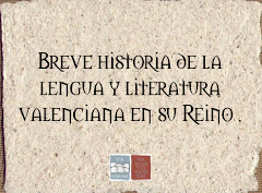 BREVE HISTORIA DE LA LENGUA VALENCIANA