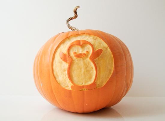 Penguin Pumpkin Carving i Also Carved 3 Pumpkins After