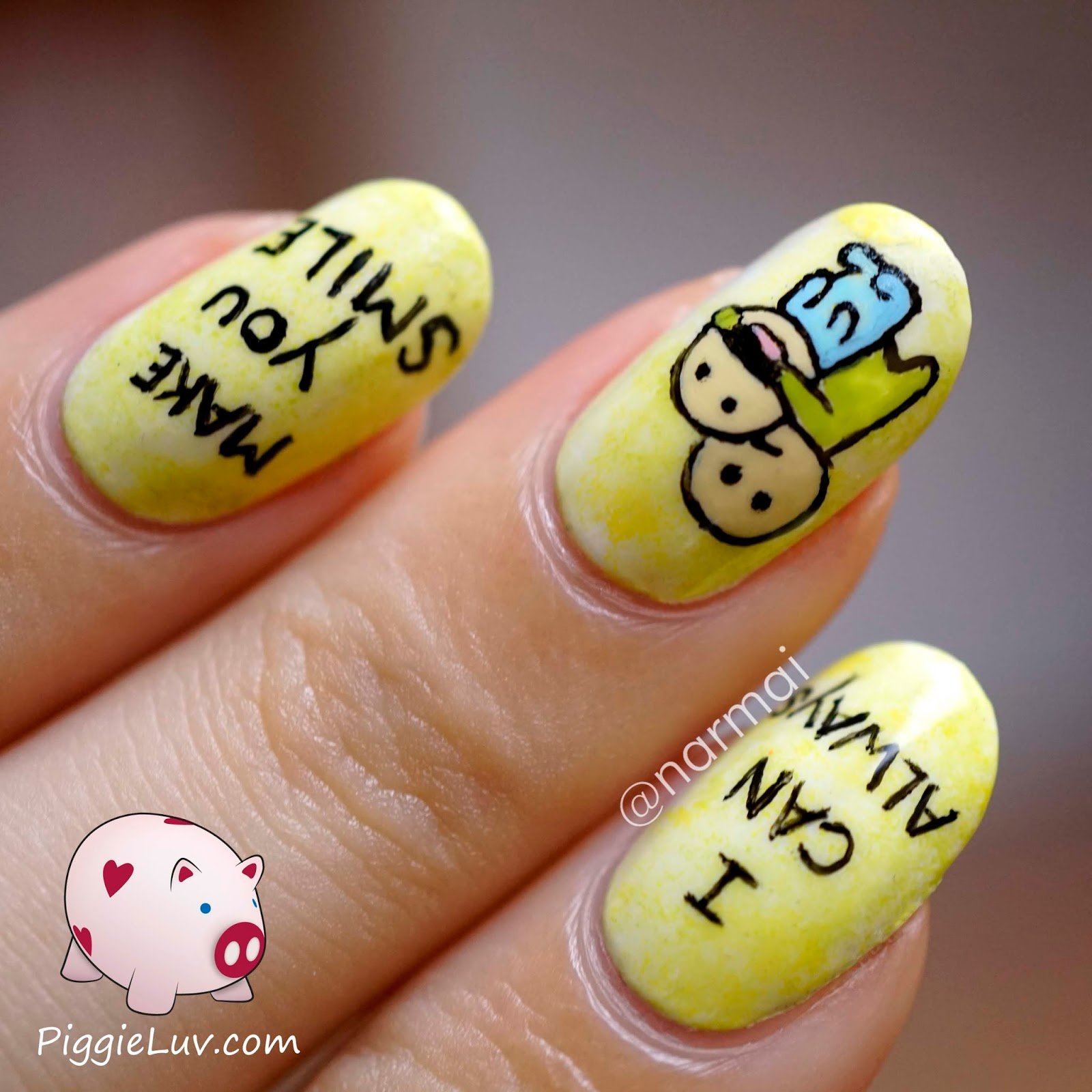 DIY Happy Smiles Nail Art recommendations