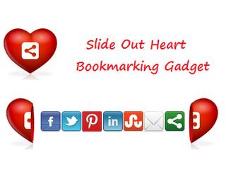 Slide Open Heart Bookmarking Gadget untuk Blogger