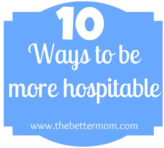 ten ways to be more hospitable