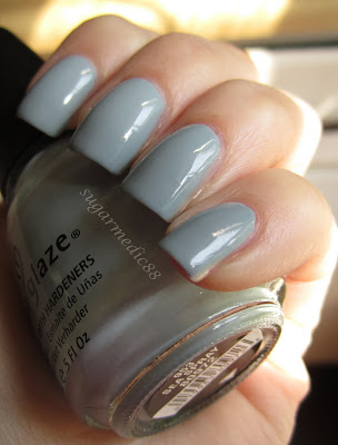China Glaze Sea Spray Swatch
