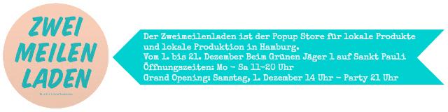 [luzia pimpinella BLOG ] DIY & design: markt tipps fürs wochenende in hamburg  - das logo vom zweimeilenladen