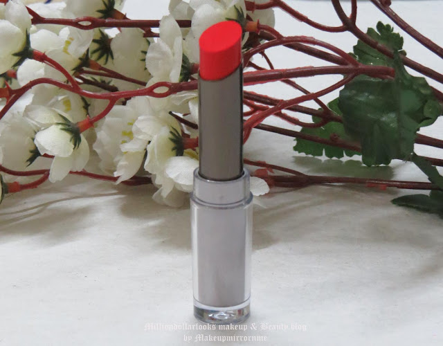 Lakme Absolute Sculpt Studio Hi-Definition Matte Lipstick Coral Flare Review, Swatch, FOTD & Price, Kareena Kapoor lakme advertisement, Indian beauty blog, Indian makeup blogger, Indian makeup and beauty blog, Brick red lipstick, Coral red lipstick, Lakme lipsticks review, Lakme new launch lipsticks, Product review, FOTD, How to wear a coral red lipstick, Best day time red lipstikcs, Matte lipsticks