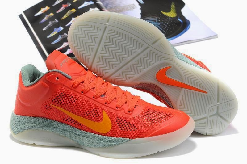 Nike Zoom Hyperfuse 2011 Low Basketball Shoes Blue Silver Red Pictures