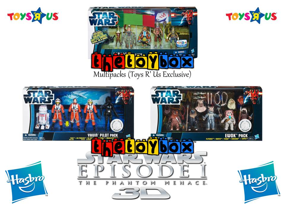 The Phantom Menace Toys : The toy box star wars phantom menace d hasbro