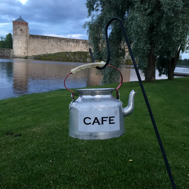 The Great Finnish Road Trip, kettle cafe, road trip Finland, visit Finland, Savonlinna, Olavinlinna castle Finland
