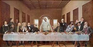 ultima cena de los científicos