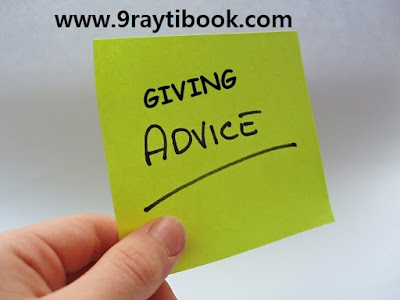 درس Giving advice