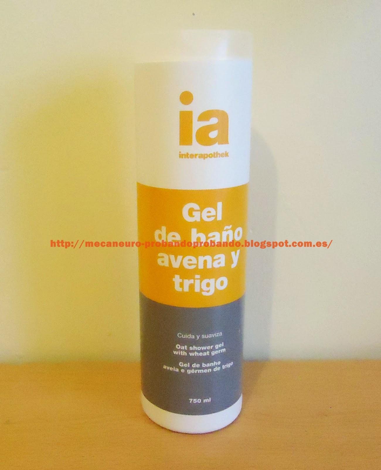 Gel de baño Interapothek Avena y Trigo